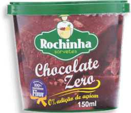 Sorvete Chocolate Zero Rochinha 500ml