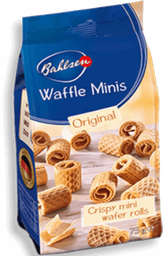 Biscoito Ale Waffle Minis Bahlsen 75g