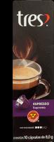 Cápsula Espresso Supremo 3 Coracoes Com 10