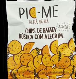 Chips De Batata Alecrim Pic-Me 34G