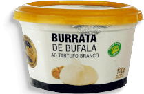 Burrata Trufada Bufalo Dourado 120g