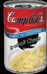 Sopa Creme Broc/Queijo Campbells 295g