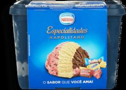 Sorvete Napolitano Especialidade Nestle 15L