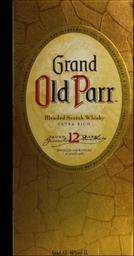 Whisky Escocês Old Parr 12 Yo 1L