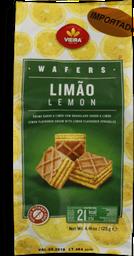 Biscoito Cubos De Wafer Limão Vieira 125g