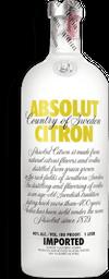 Vodka Sue Absolut Citron 750ml