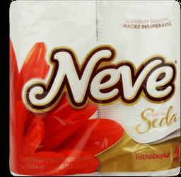 Papel Higiênico Soft Neutro Neve 30M Com 4