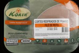 Filé Peito Frango Resf Korin 600g