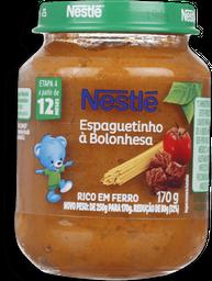 Papinha Espaguetinho Nestle 170g
