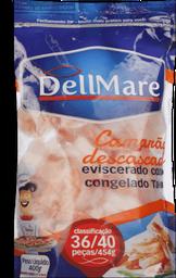 Camarão Congelado Desc Coz 36/40 Dellmare 400g