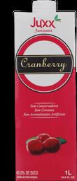 Suco Cranberry Original Juxx 1L