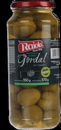 Azeitona Verde Espanhola Gordal Raiola 350g