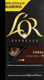 Café Espresso Forza Lor 52G Com 10Un