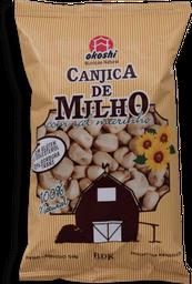 Canjica Orgânico Milho Com Sal Marinho Okoshi 50g