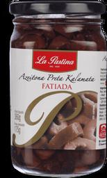 Azeitona Preta La Pastina Fatiada 160G