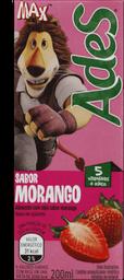 Bebida A Base De Soja Morango Ades 200ml
