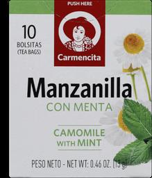Cha Esp Carmencita Camomila C/ Hortela 13G