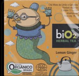 Herbal Tea Cha Lemon Ginger Bio2 195G
