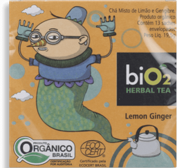 Herbal Tea Cha Lemon Ginger Bio2 195G