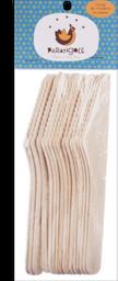 Facas Madeira Parangole Com 16