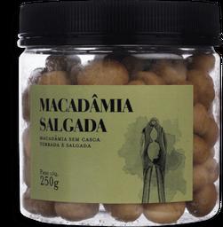 Macadamia Torrada E Salgada 250G