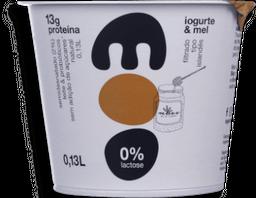 Iogurte Natural Semi Desnatado Com Mel Moo 130g G