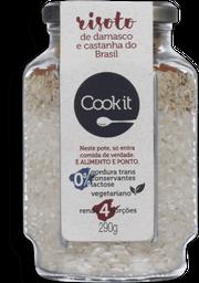 Risoto Damasco E Castanha Do Brasil Cookit 290G