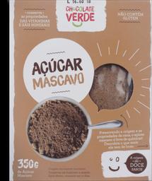 Açúcar Mascavo Chocolate Verde 350g