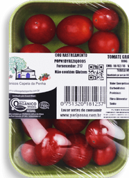 Tomate Grape Orgânico Capela 180g