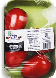 Tomate Italiano Orgânico Capela 500g