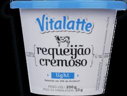 Requeijão  Cremoso Light Vitalatte 200g