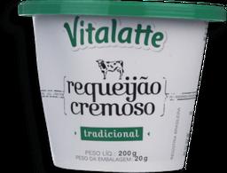Requeijão  Cremoso Trad Vitalatte 200g
