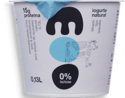 Iogurte Natural Semidesnatado Moo 130 g