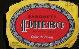 Sabonete Em Barra Odor De Rosas Phebo 90g
