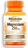 Capsula Oxido De Magnesio Sundown 250Mg C/100