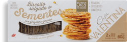 Biscoito Sementes Casa Valentina 60g