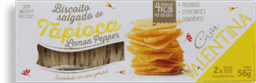 Biscoito Tapioca Lemon Pepper Casa Valentina 56G
