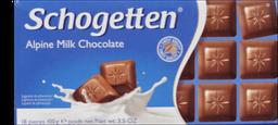 Chocolate Em Barra Ao Leite Schogetten 100G