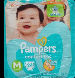 Fraldas Pampers Premium Care Pacotao M Com 24Un