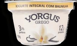 Iogurte Grego Integral Baunilha Yorgus 130g G