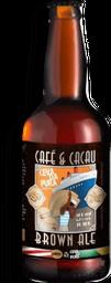Cerveja Brown Ale Cevada Pura 500ml