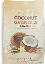 Coconut Granola Low Carb Puravida 250G