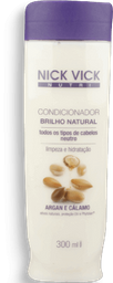 Condicionador Nick Vick Nutri Brilho Natural 300ml
