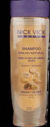 Shampoo Nick Vick Nutri Brilho Natural 300ml
