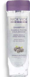 Shampoo Nick Vick Nutri Raiz E Pontas 300ml