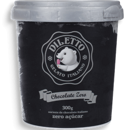 Sorvete Chocolate Zero DileTinto 500ml