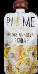 Picme Frutas Amarelas Chia 100g