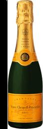 TEspumante Francês  Veuve Clicquot Brut 375Ml