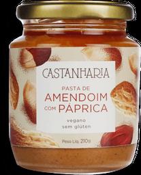 Pasta De Amendoim Paprica Castanharia 210G