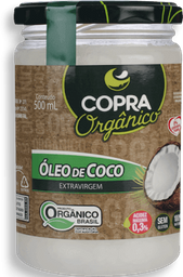 Óleo De Coco Orgânico Copra 500ml